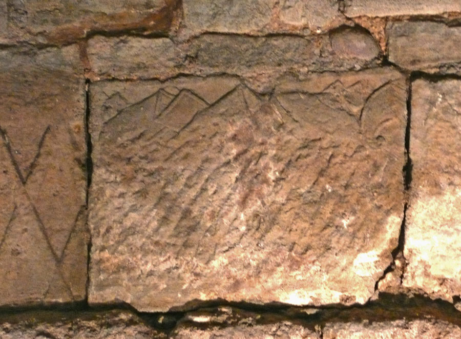 La muraille gallo romaine for Decoration romaine