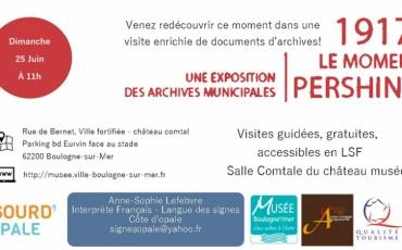 Visite Guidée - Exposition Pershing en Langue des Signes Française